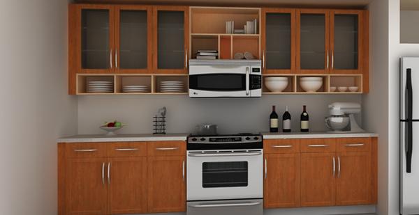 Деревянная кухня от Икеа - 4