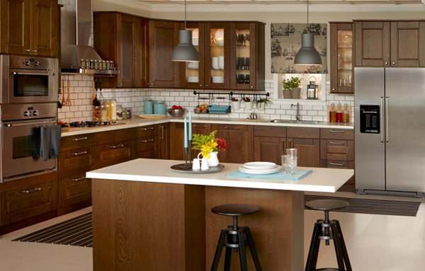 Кухонная мебель от Икеа (Деревяннная) - 5