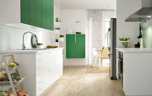Фронтальные панели кухонной мебели от Икеа – 1