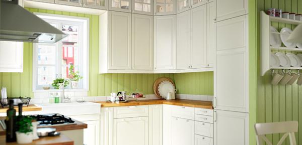 Фронтальные панели кухонной мебели от Икеа - 2
