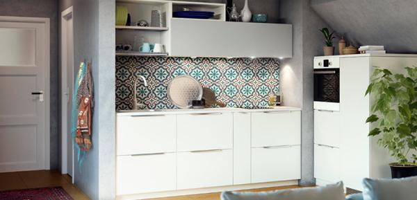 Фронтальные панели кухонной мебели от Икеа - 3