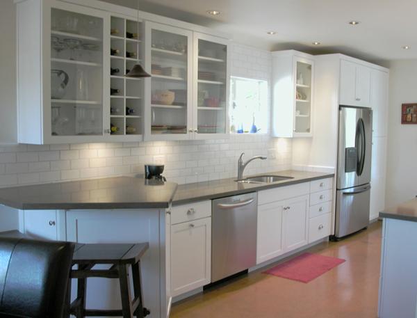 Линейная кухня от Икеа - 6