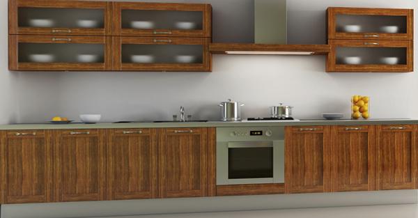 Кухонная мебель от Икеа (линейная планировка) - 1