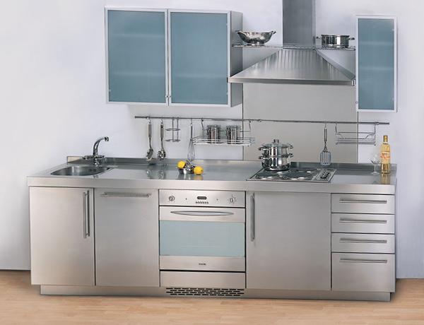 Металлическая кухня от Икеа - 4