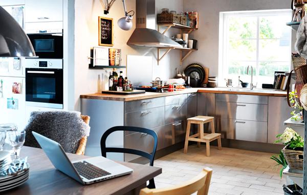 Кухонная мебель от Икеа (Металлическая) - 1