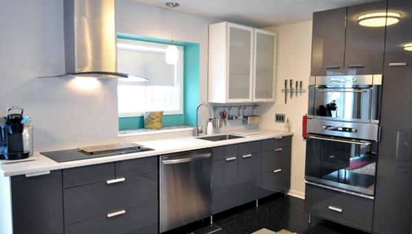 Кухонная мебель от Икеа (Металлическая) - 4