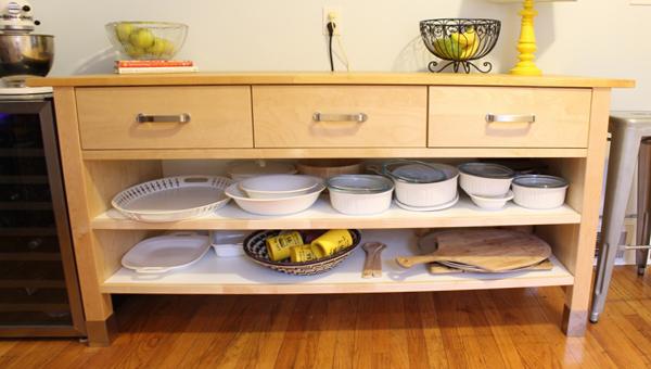 Кухонная мебель от Икеа (Напольные шкафы) – 2