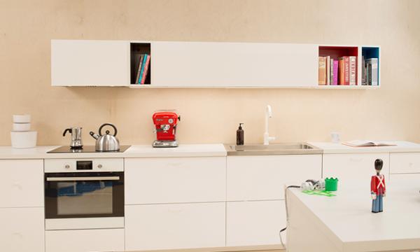Навесные шкафы кухонной мебели от Икеа – 2