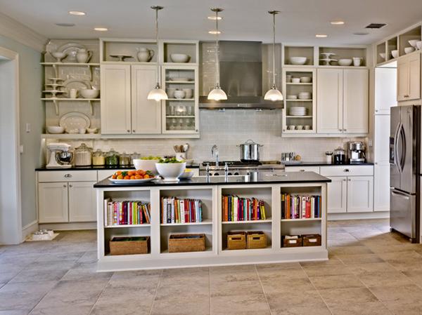 Навесные шкафы кухонной мебели от Икеа - 1