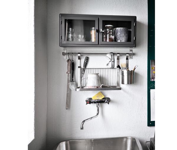 Навесные шкафы кухонной мебели от Икеа - 3