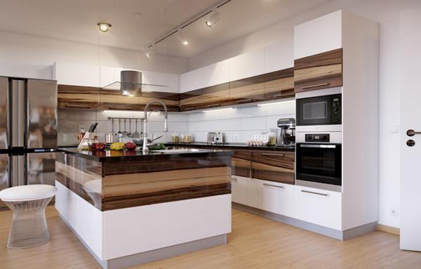 Кухонная мебель от Икеа (остравная планировка) - 1