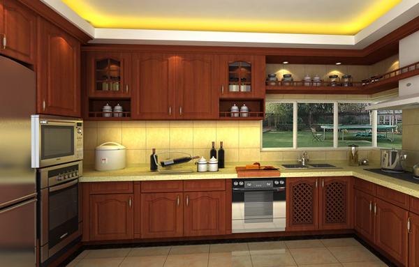 Кухонная мебель от Икеа (П-образная планировка) - 1
