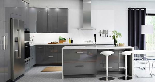 Кухонная мебель от Икеа (П-образная планировка) - 2