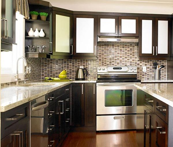 Кухонная мебель от Икеа (П-образная планировка) - 3