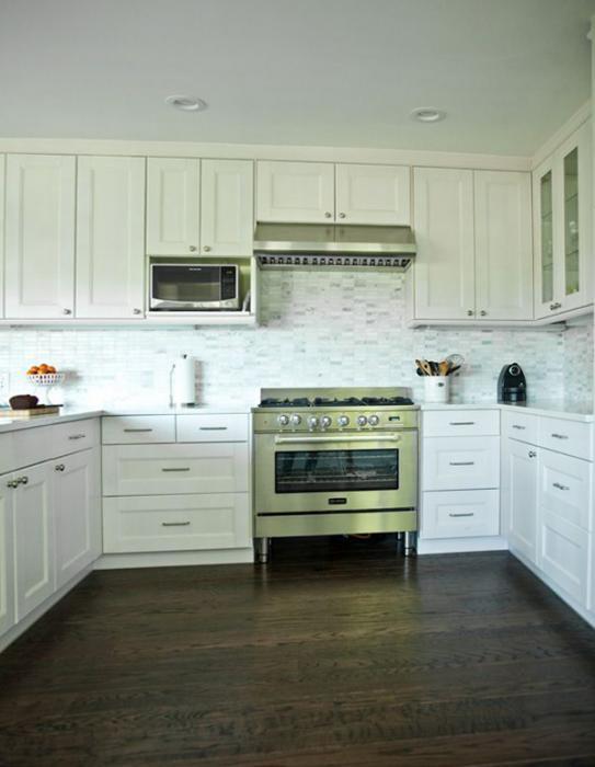 Кухонная мебель от Икеа (П-образная планировка) - 4