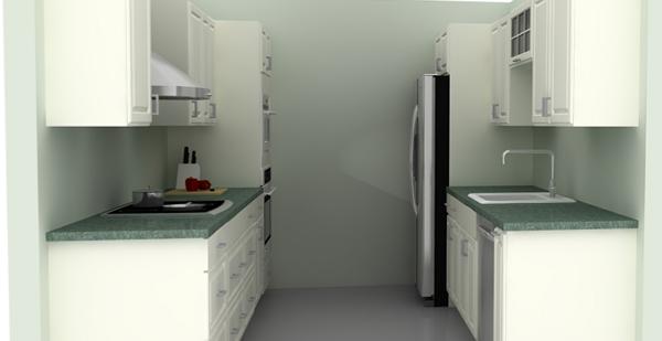 Параллельная кухня от Икеа - 4