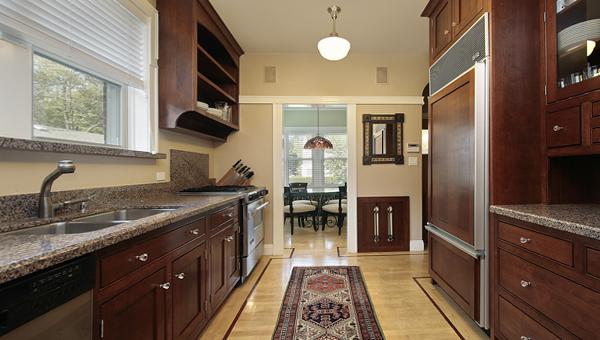 Кухонная мебель от Икеа (параллельная планировка) - 1