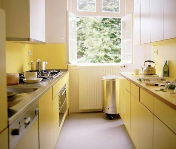 Кухонная мебель от Икеа (параллельная планировка) - 4