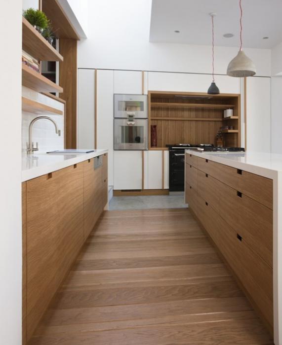 Кухонная мебель от Икеа (параллельная планировка) - 5