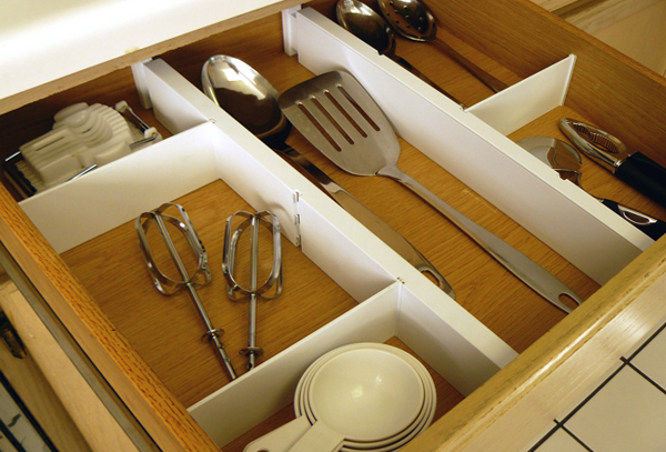 Разделители для ящиков в кухонной мебели от Икеа - 3