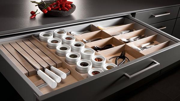 Разделители для ящиков в кухонной мебели от Икеа - 4