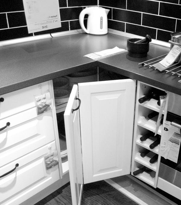 Угловая кухня от Икеа - 2