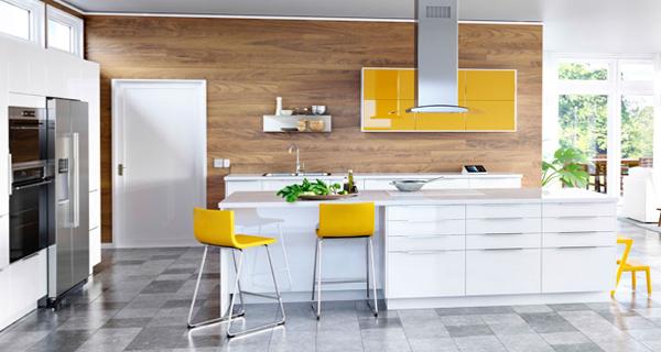 Яркая кухня от Икеа - 1
