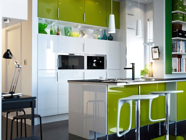 Яркая кухня от Икеа - 2
