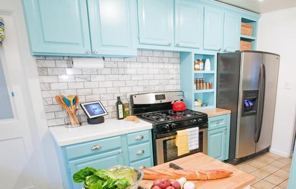 Яркая кухня от Икеа - 4
