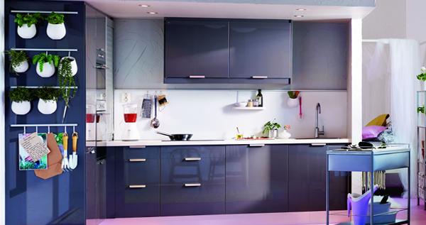 Кухонная мебель от Икеа (яркая) - 1