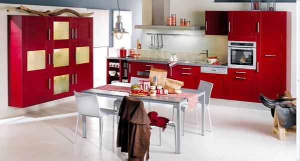 Кухонная мебель от Икеа (яркая) - 2