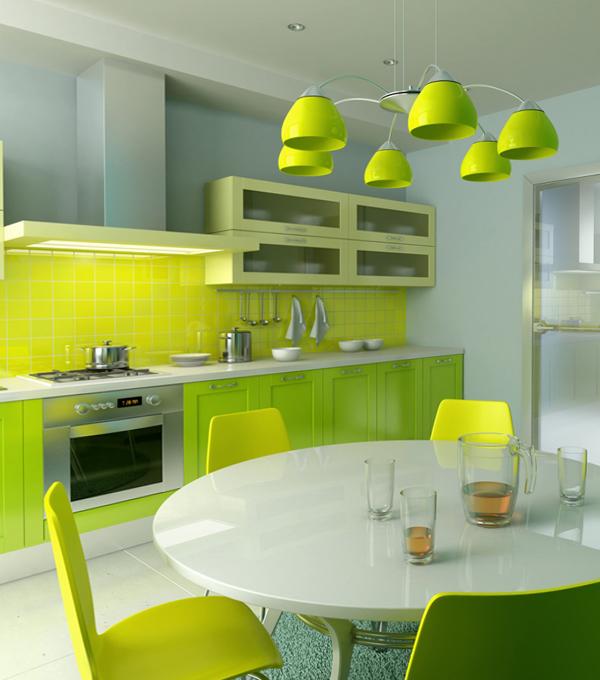Кухонная мебель от Икеа (яркая) - 3