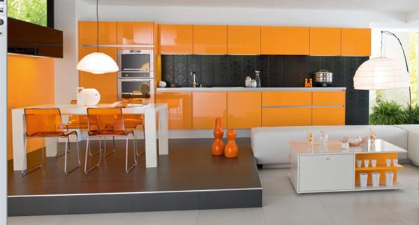 Кухонная мебель от Икеа (яркая) - 4