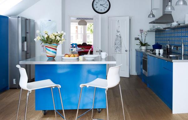 Кухонная мебель от Икеа (яркая) - 5