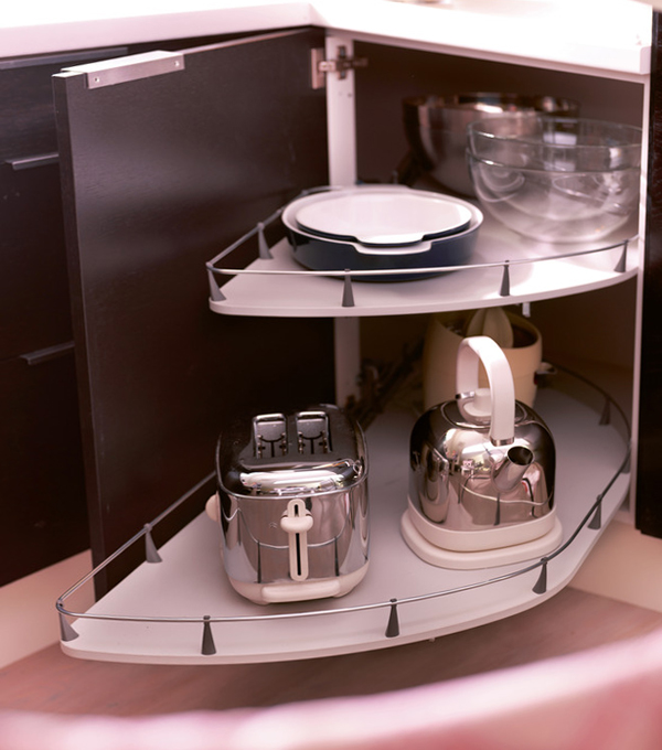 Полки и ящики в кухонной мебели от Икеа - 2