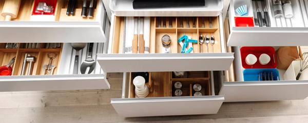 Полки и ящики в кухонной мебели от Икеа - 3
