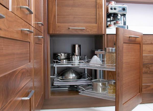 Полки и ящики в кухонной мебели от Икеа - 4