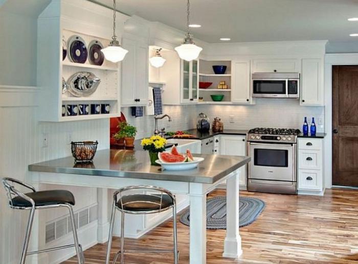 Кухонные столы – фото 11