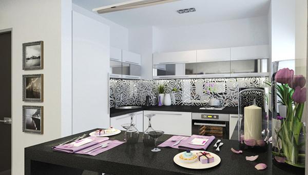 Кухонный гарнитур (12-15 кв.м) – 1