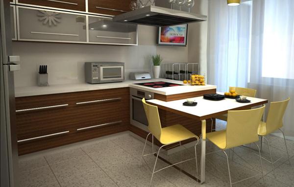 Кухонный гарнитур (12-15 кв.м) – 2
