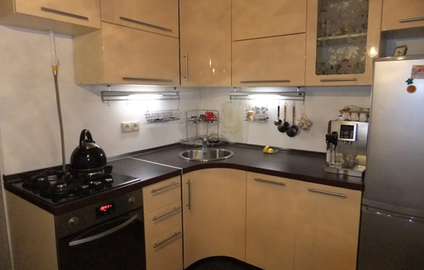 кухонный гарнитур для кухни 9 кв.м фото