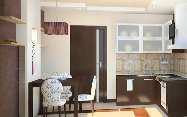 Кухонный гарнитур (8-9 кв.м) – 2