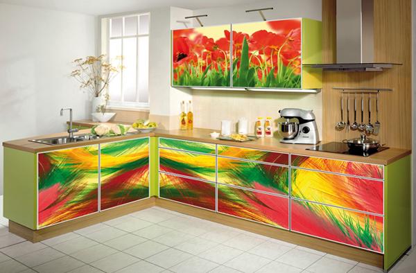 Фасады кухонных гарнитуров что лучше