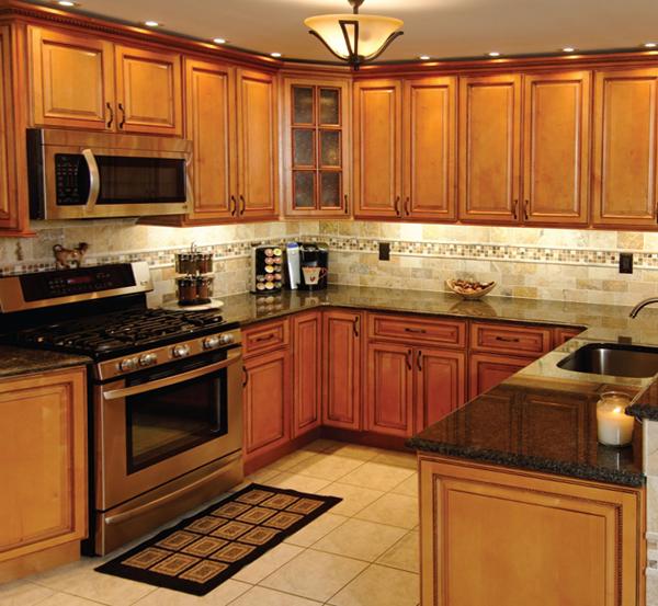 Кухонный гарнитур (П-образная планировка) – 1