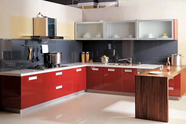 Кухонный гарнитур (П-образная планировка) – 2