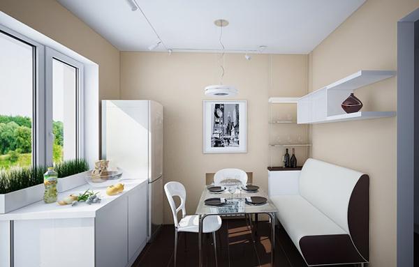 Кухонный диван (линейный) – 2