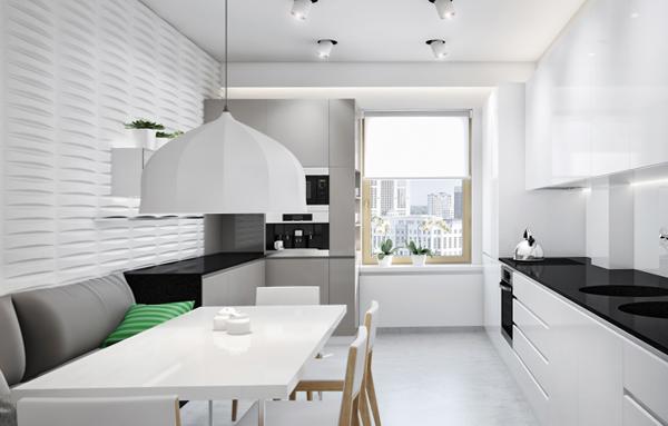 Кухонный диван (линейный) – 3