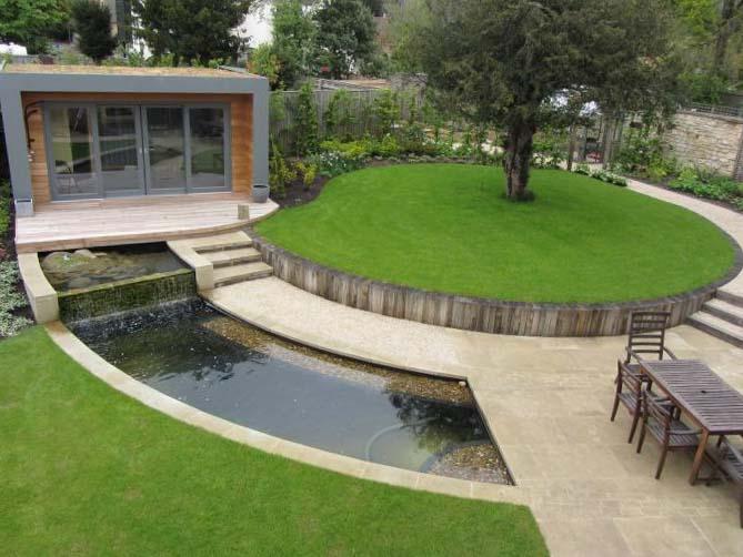 Ландшафтный дизайн для загородного дома