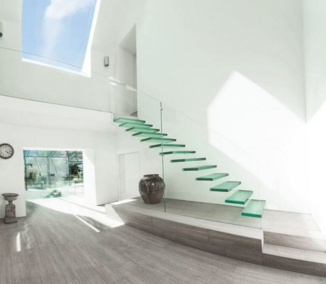 Фото красивых лестниц на второй этаж