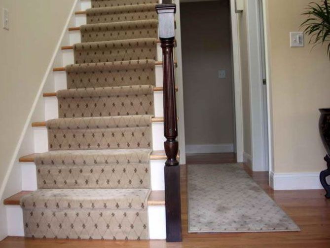 Лестницы в стиле винтаж